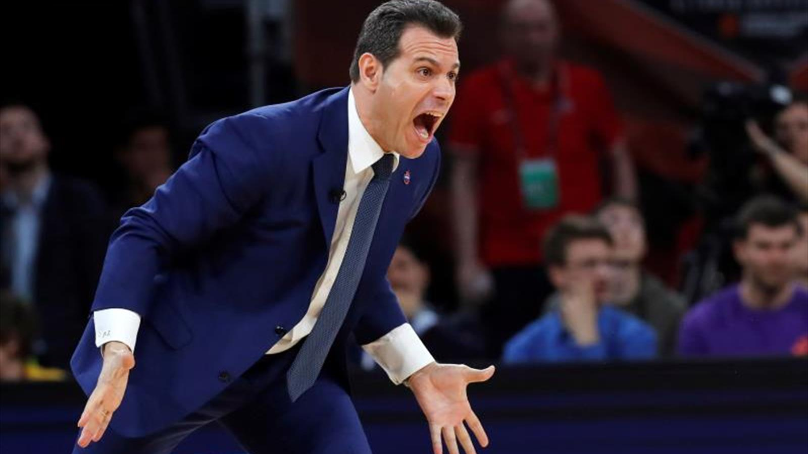 Itoudis, entrenador del CSKA