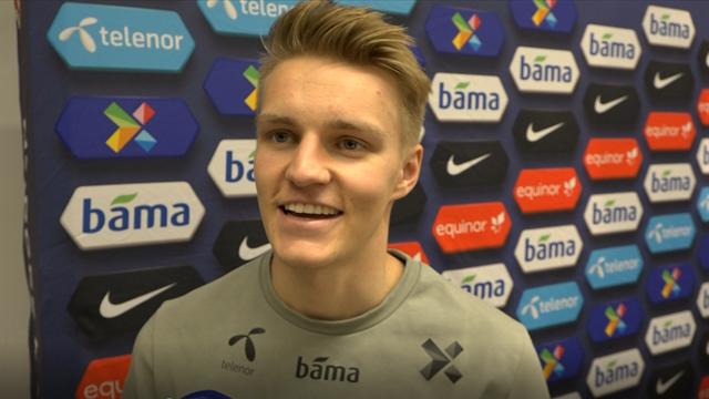f444dbad VIDEO - Ødegaard: – Litt annerledes å spille for Norge enn Vitesse ...