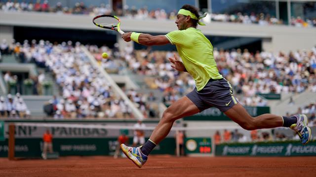 Nadal stoppé dans sa démonstration