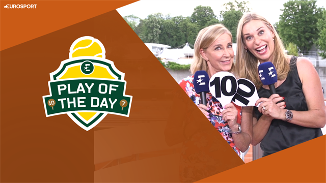 😲 'Konta made me speechless' - Play of the Day