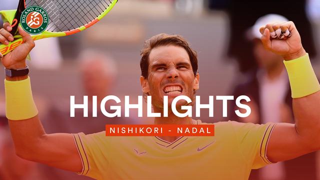 Wuchtig und immer die passende Antwort: Nadal fertigt Nishikori ab
