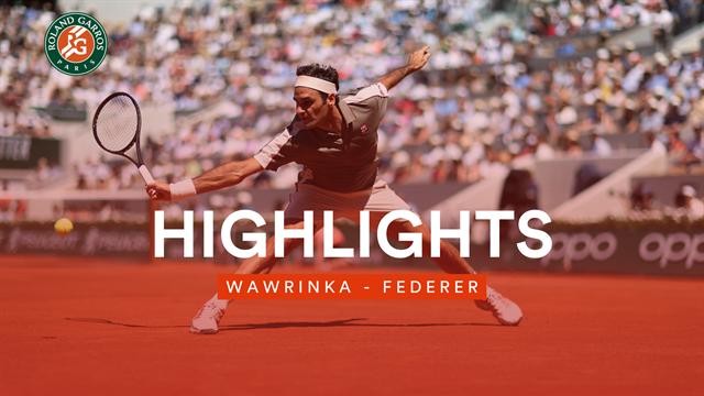 Mit wunderschöner Rückhand: So lief Federers Erfolg gegen Wawrinka