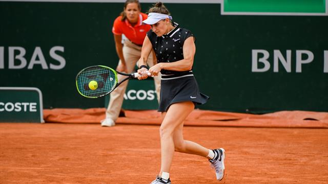 Première demi-finale en Grand Chelem pour Vondrousova