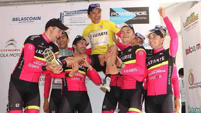 El triunfo de Richard Carapaz y la cantera del equipo Lizarte en el Giro de Italia 2019