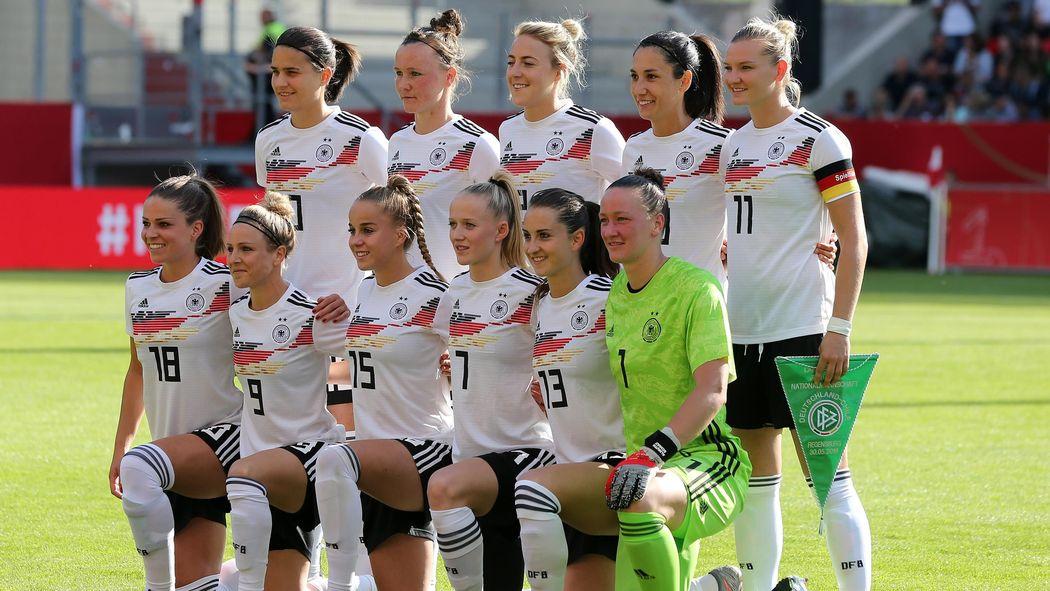 Deutscher Kader Der Frauen Wm 2019 In Frankreich Die 23