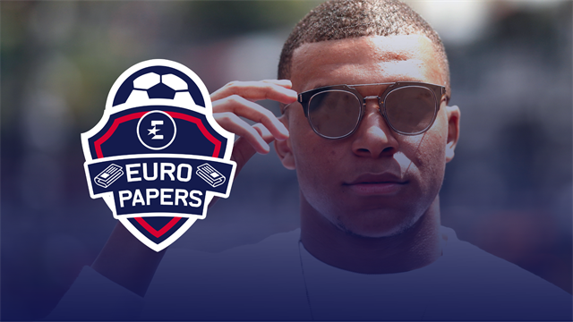 Euro Papers: Mbappe 'hands in transfer request'