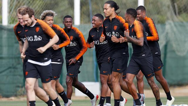 Pays-Bas contre Angleterre, place aux jeunes !