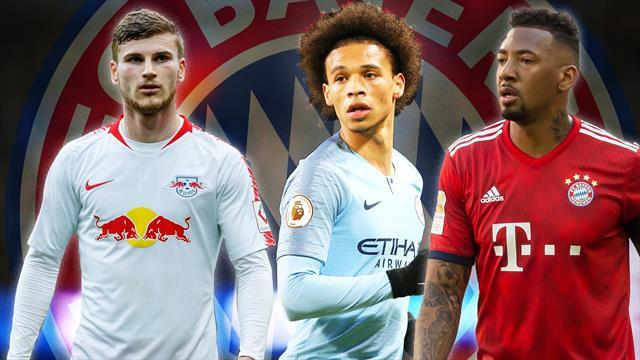 Werner, Sané, Boateng: So läuft Bayerns zweite Transfer-Welle