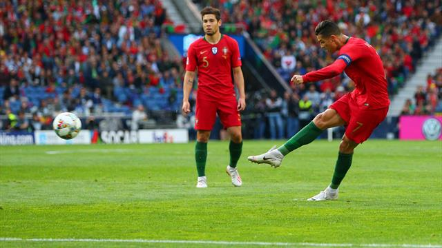 WATCH: Ronaldo scores blistering free-kick for Portugal