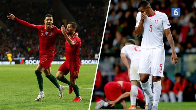 Highlights: Fænomenale Ronaldo med hattrick da Portugal bookede billetten til finalen