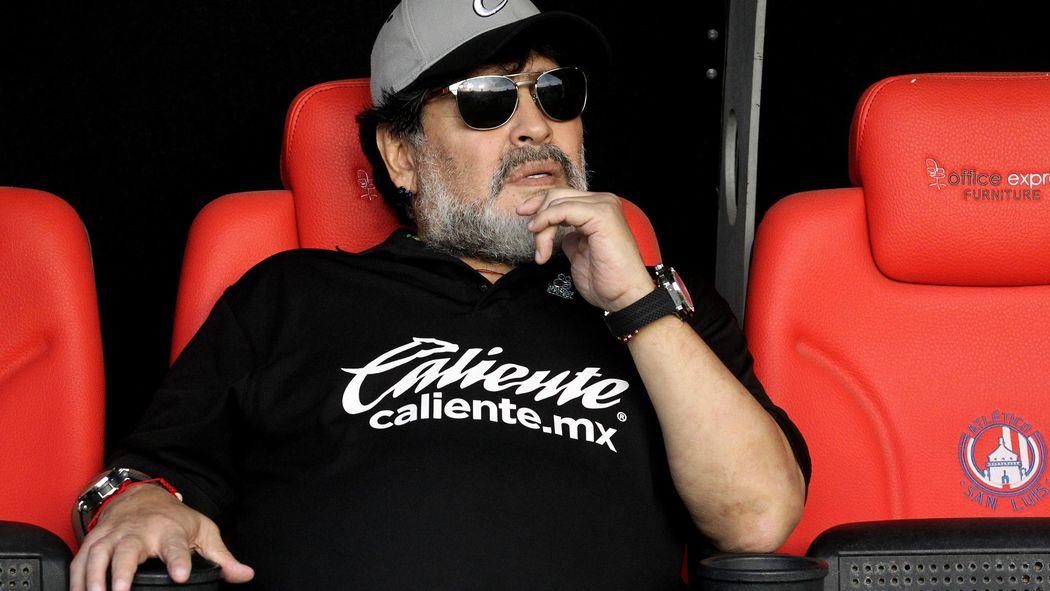 Image result for images of Diego Maradona steps down as Sinaloa Dorados manager in Mexico
