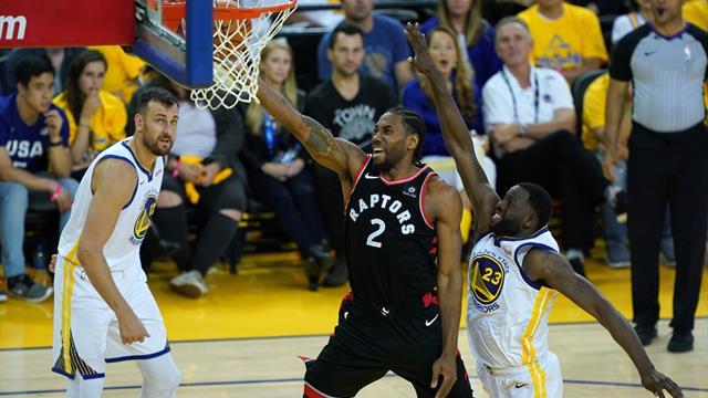 Les Raptors n'ont pas raté le coche contre des Warriors diminués