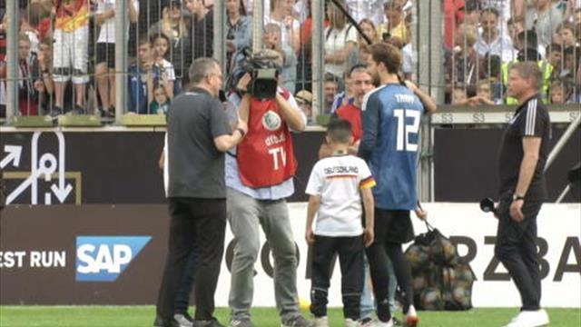 Elferschießen gegen Trapp: DFB-Keeper zeigt Herz