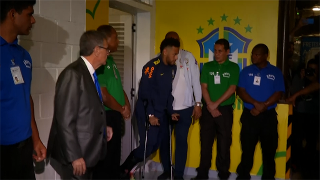 """Neymar : """"Merci pour tous les messages du monde entier"""""""
