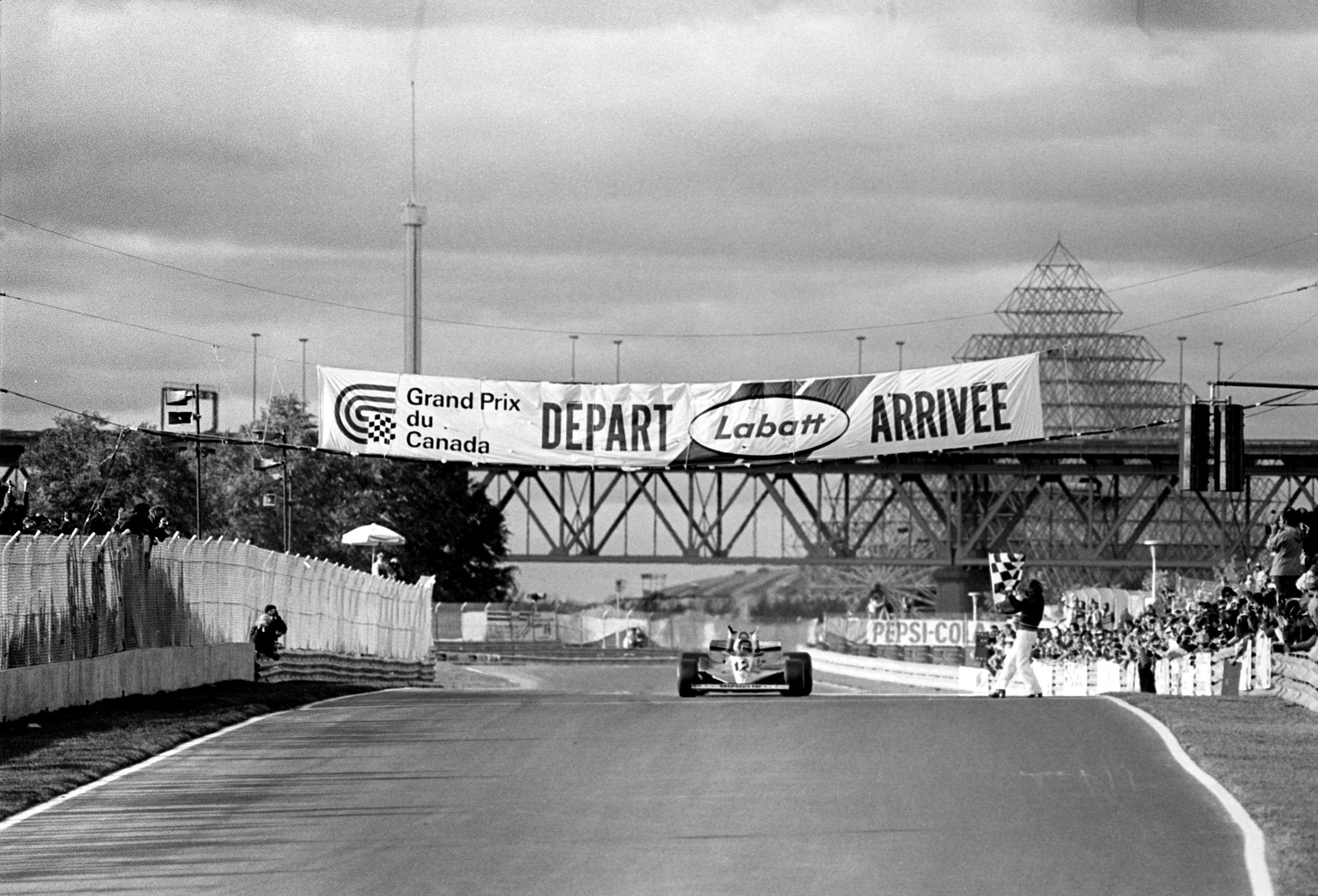 Gilles Villeneuve au Grand Prix du Canada 1978