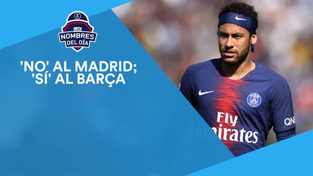 Neymar, la nueva Champions, Keylor, De Ligt y Hazard, los nombres del día