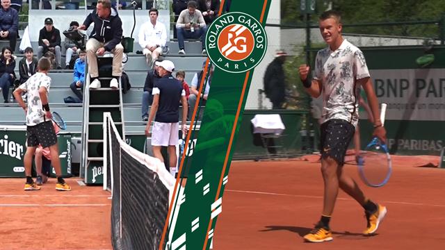 Highlights: Stærke Holger Rune spillede sig overbevisende i kvartfinalen over 2 dage