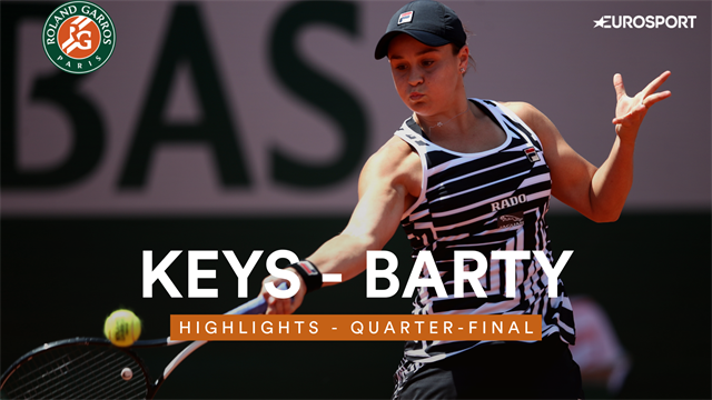 Keys- Barty: les temps forts
