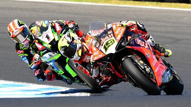 Suivez le GP de Jerez de Superbike en direct sur Eurosport 2 et Eurosport Player