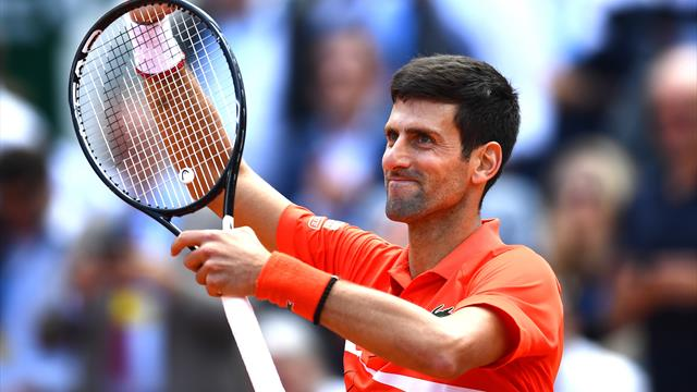 Imperturbable, Djokovic se rapproche du but