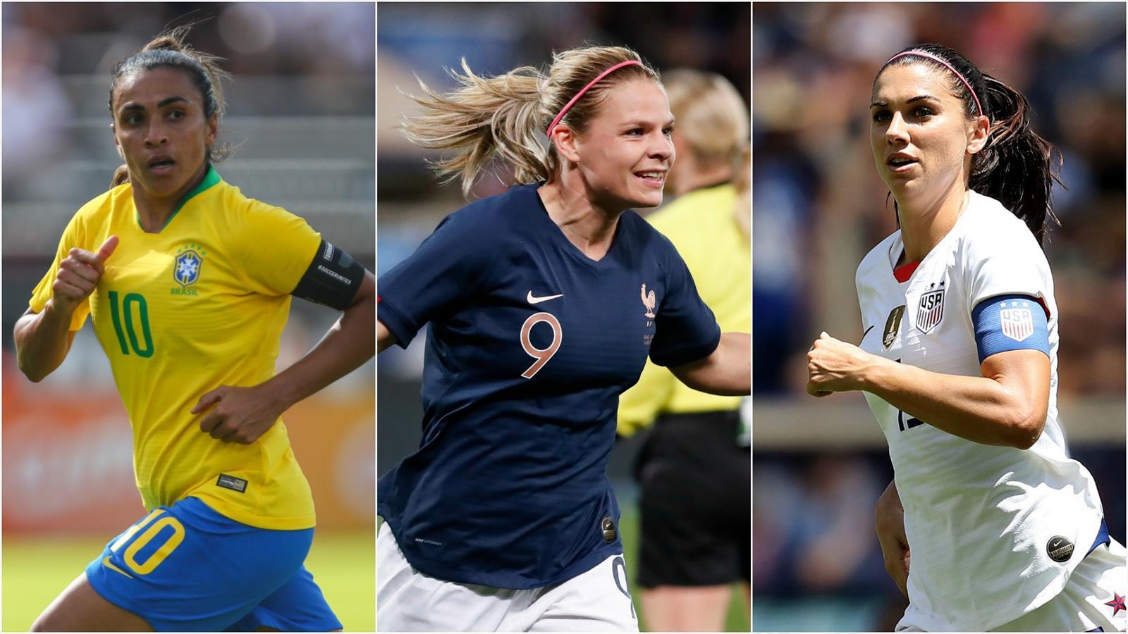 Euro Foot Feminin 2019 Calendrier.Voici Les Dix Stars A Suivre Pendant Le Mondial