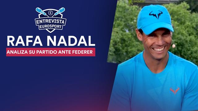 """Roland-Garros 2019, Nadal en exclusiva a Eurosport: """"Ante Federer es un partido especial y único"""""""