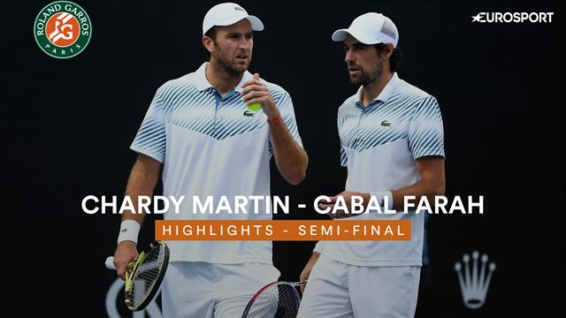 Jérémy Chardy et Fabrice Martin en finale du double — Roland-Garros