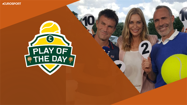 Play of the Day: 'You don't see Djokovic's sporting act very often'