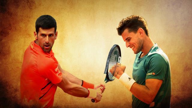 Djokovic - Thiem : une belle qui sent la poudre