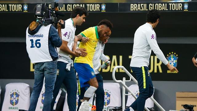 Neymar rassurant sur sa blessure, Mbappé lui affiche son soutien