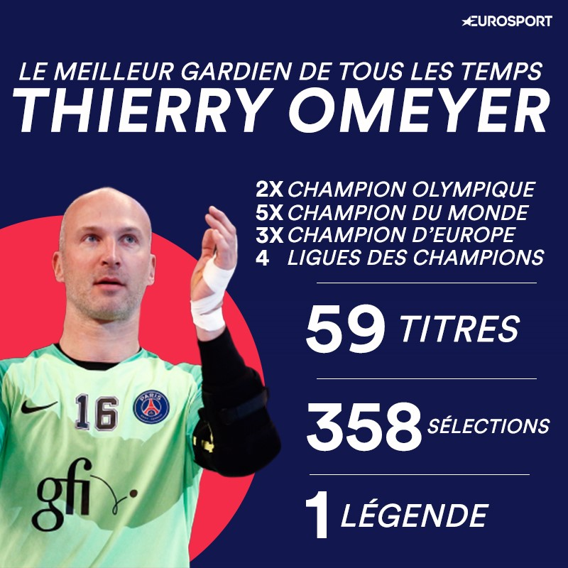 Une légende nommée Thierry Omeyer.