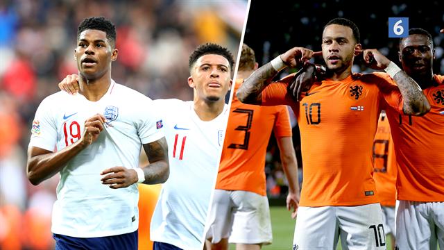 Highlights: Stones forsvarskiks i den forlængede spilletid sendte Holland i Nations League-finalen