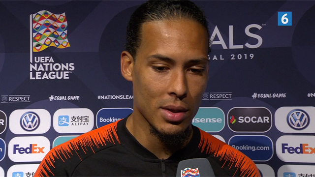 Van Dijk om potentiel Nations League-triumf: Det kan blive den bedste uge i min karriere