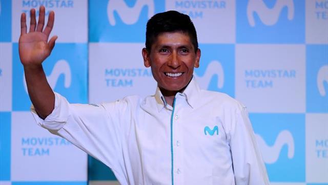 Nairo Quintana llevará los galones del Movistar en el Dauphiné