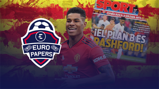 Euro Papers - Are Barcelona coming for Marcus Rashford?