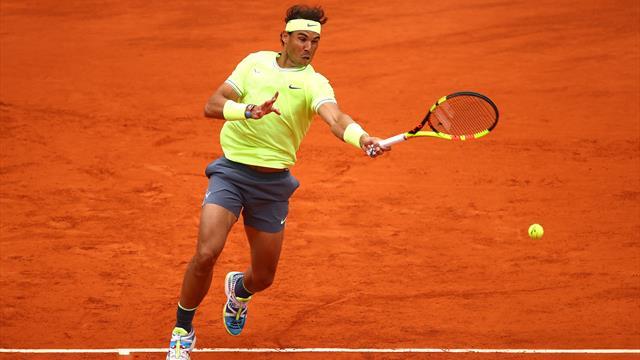 Roland-Garros2019: La espectacular dejada de Nadal que dejó clavado a Thiem