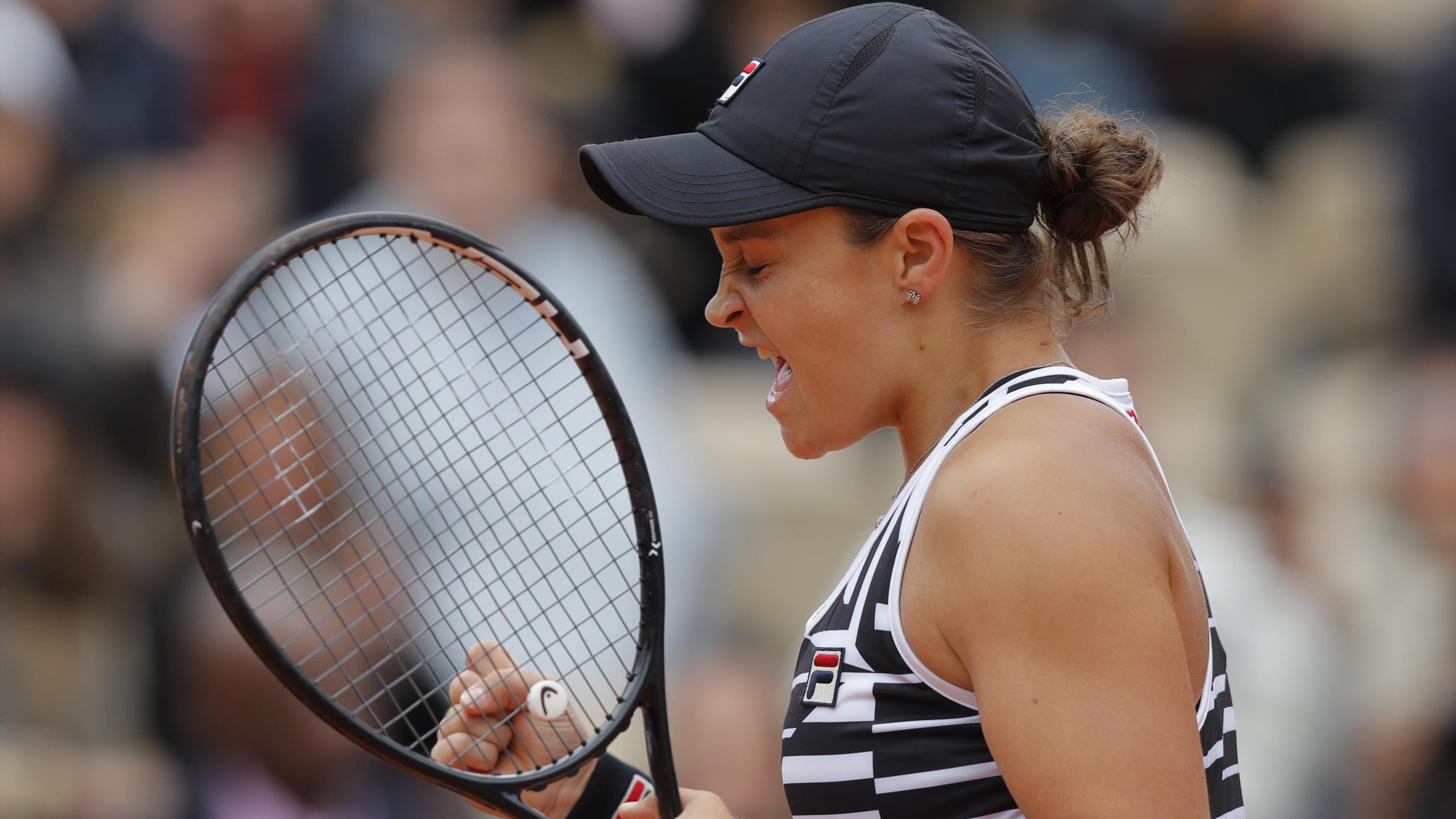 Ashleigh Barty S Parents To Miss French Open Final Despite Late Paris Dash Eurosport