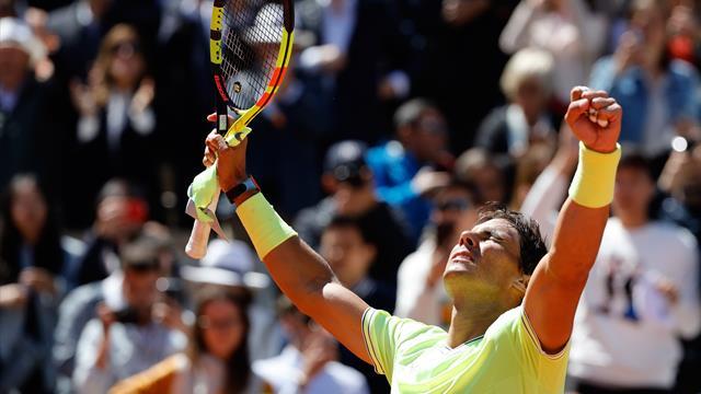 Injouable, Nadal n'a fait qu'une bouchée de Federer