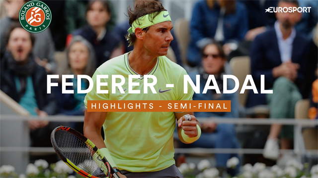 Highlights: Rafael Nadal outclasses Roger Federer