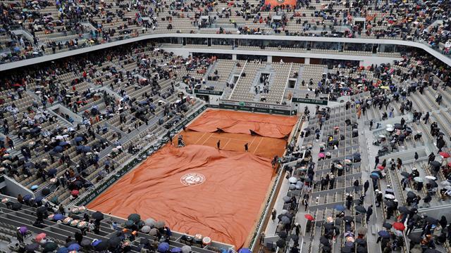 La pluie et le vent ont gagné, Djokovic - Thiem ne reprendra pas