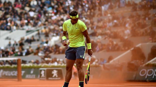 """""""Avec ce vent, Nadal et Federer ont été exceptionnels, un autre match aurait été ridicule """""""