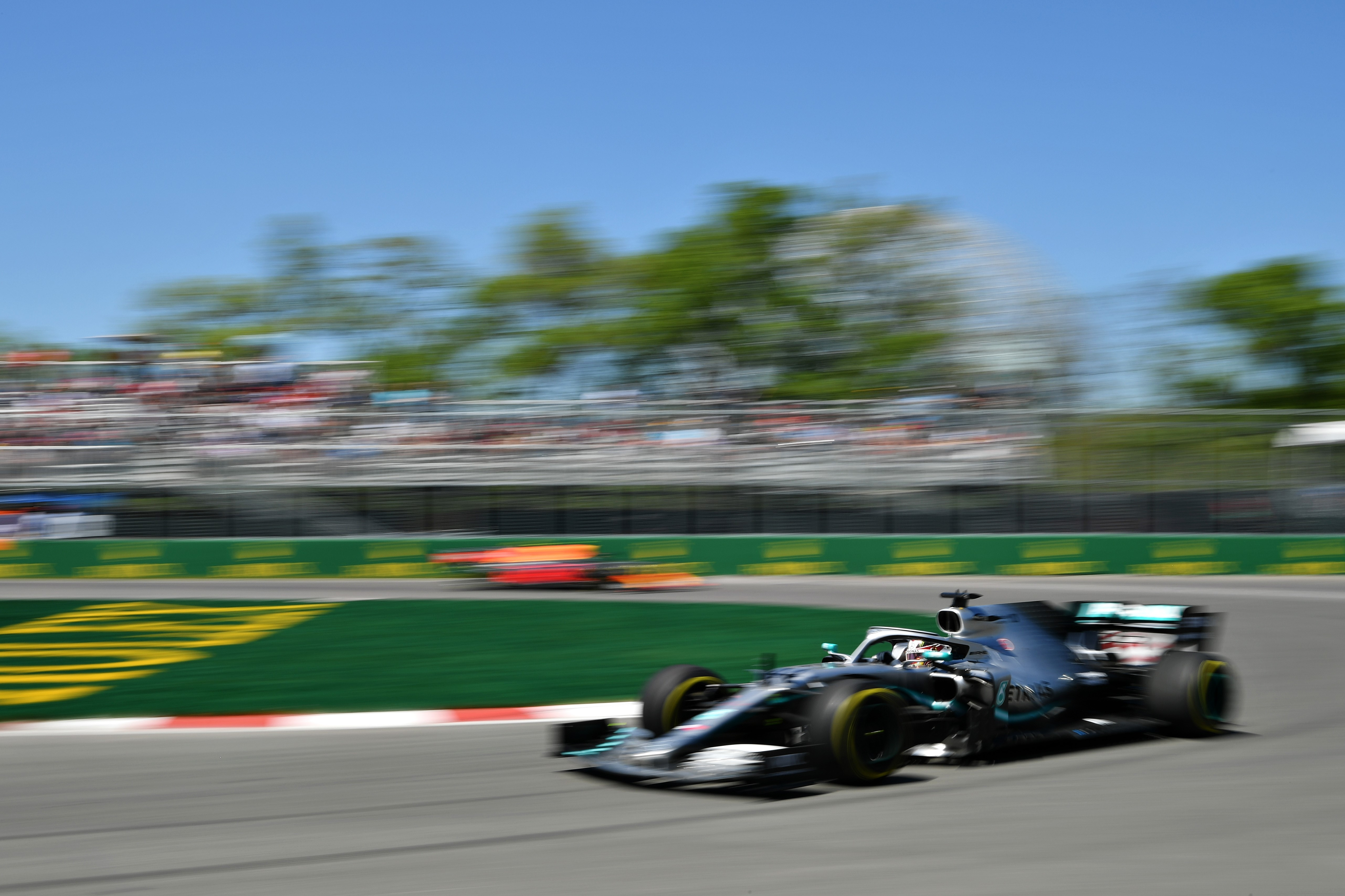 Lewis Hamilton (Mercedes) au Grand Prix du Canada 2019