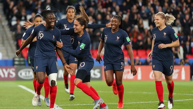 Hosts France enjoy blistering start in Women's World Cup