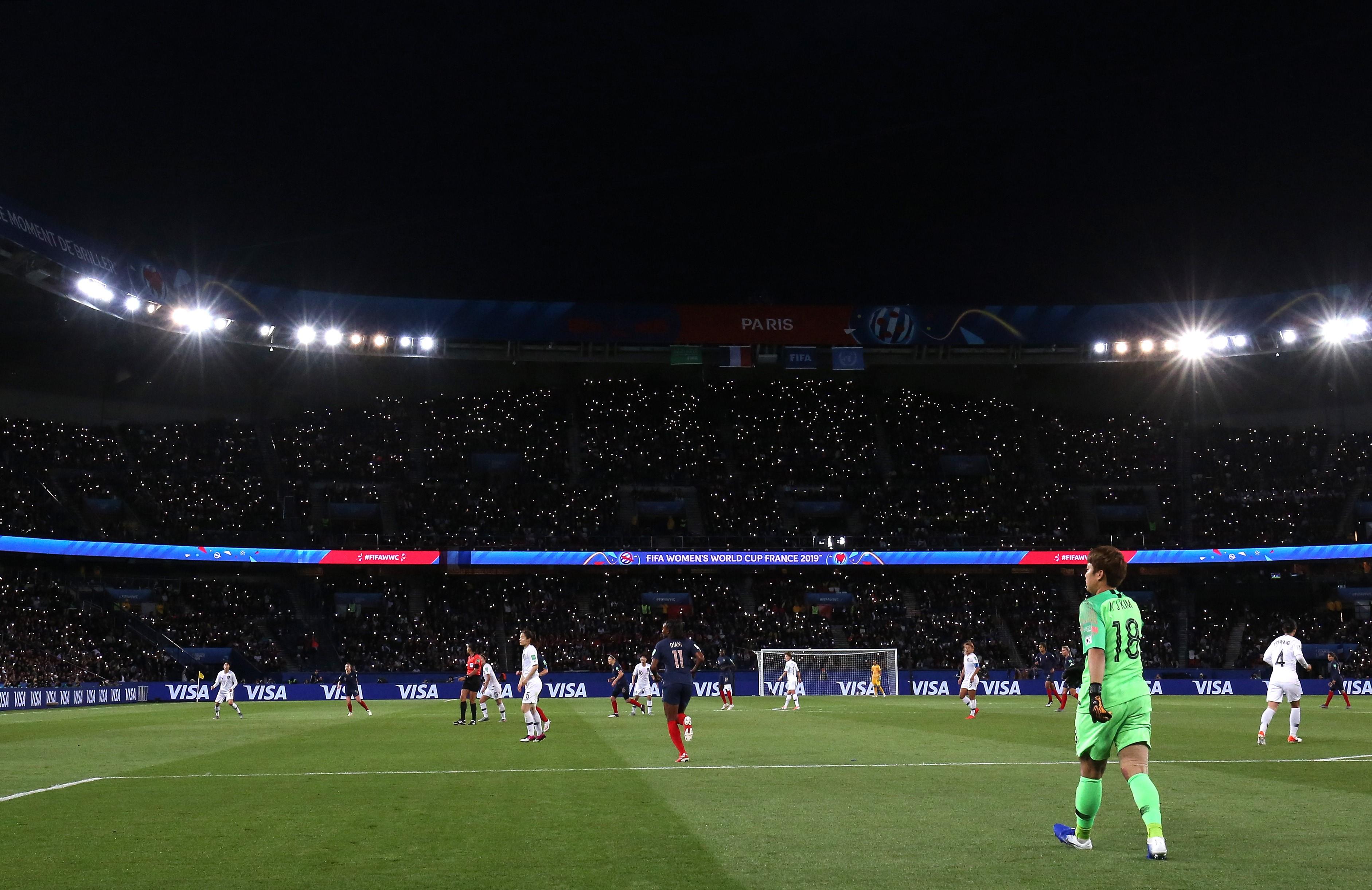 Fransa - Güney Kore; 2019 Kadınlar Dünya Kupası ilk maçından