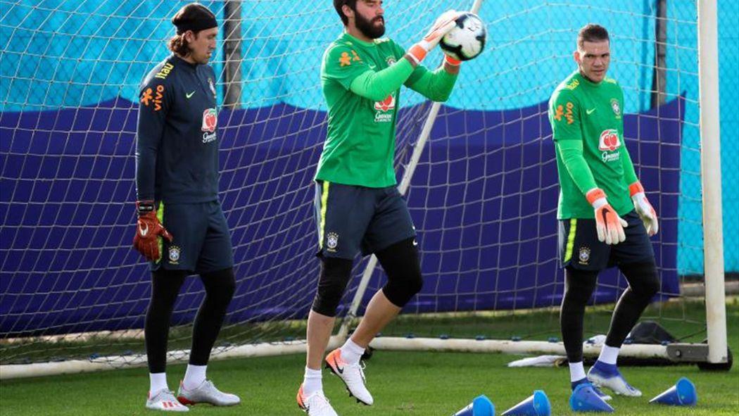 Resultado de imagen para Brasil se entrena ante Bolivia