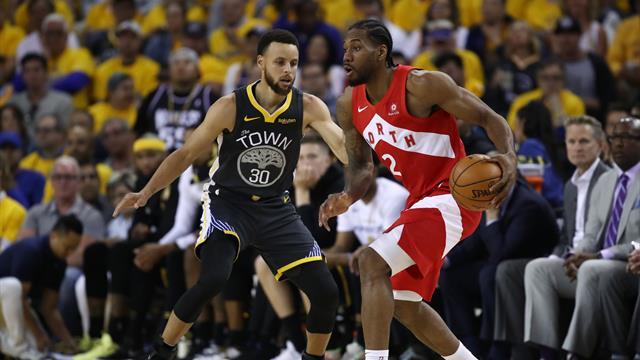 """Curry : """"Leonard a été fantastique, il a rentré tous ses paniers importants"""""""