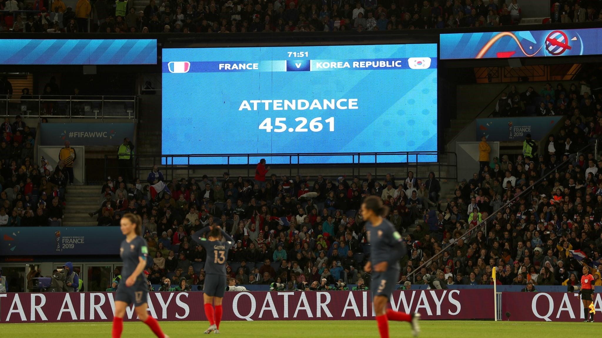 Fransa - Güney Kore, 2019 Kadınlar Dünya Kupası ilk maçı