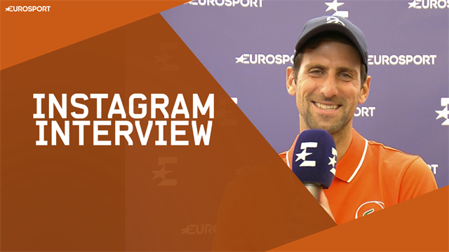 'My Halloween with Becker' – Djokovic's Instagram interview