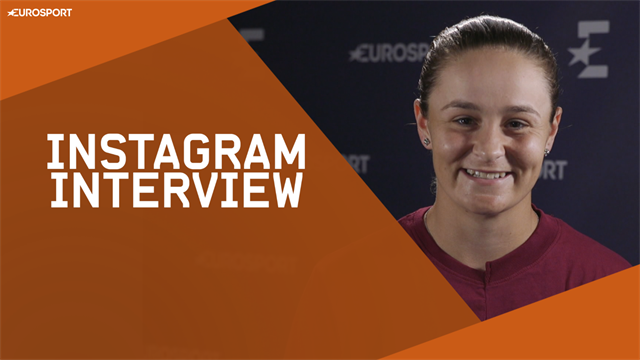 Méduses, Serena Williams, Déguisements : l'interview Instagram de Barty
