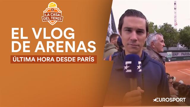 Roland-Garros 2019, Vlog Arenas: Nadal prepara la final en París mientras se decide su rival